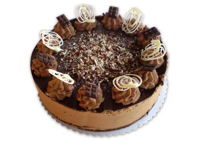 Ľadové gaštany torta