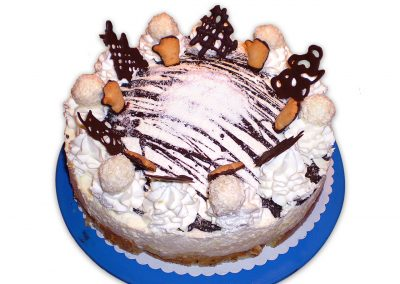 Baltida de coco torta