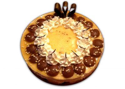 Broskyňový ananás torta