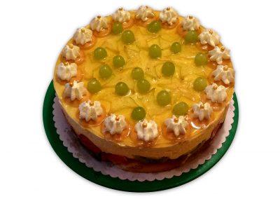 Hroznová limetka torta