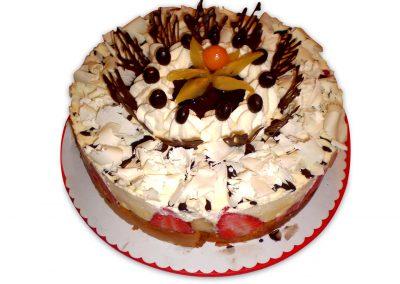 Hruškové mascarpone torta