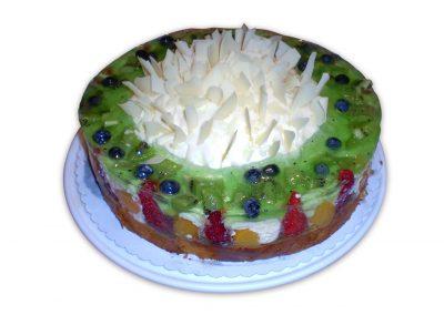 Kiwi kyslá smotana torta