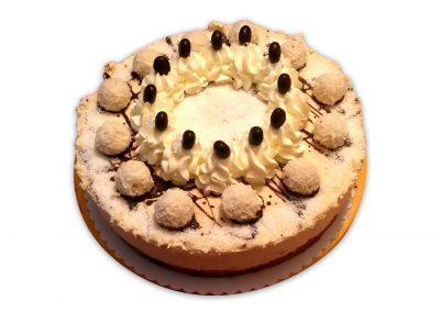 Kokosové Rafaelo torta