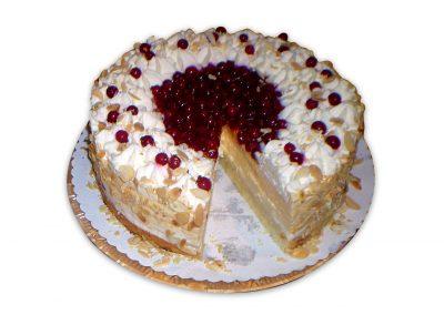 Kyslá smotana torta