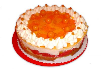 Marhuľový ananás torta