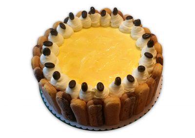 Marhuľový vaječný likér torta