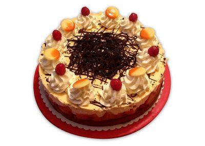 Melónová ricotta torta