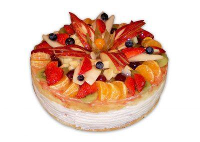 Smotanovo-tvarohová torta
