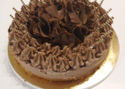 Kinder v čokoláde torta
