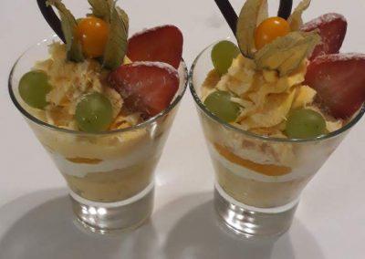 Mango jogurt - pohár