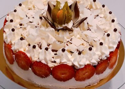 Tvarohové hrozno torta